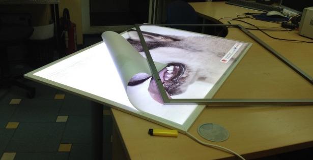 Световая панель своими руками фото